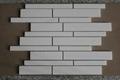 square White Thasso Marble Mosaic Tiles 2