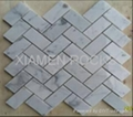 different marble mosaics tiles with different materials for decoration