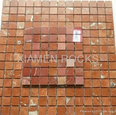 marble mosaics tiles customize shpae