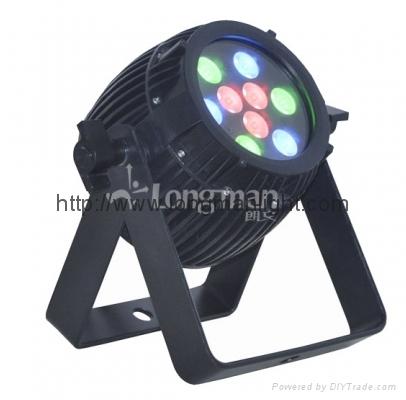 longman 9PCS 3W RGB Led Par light 700mA Driving 1