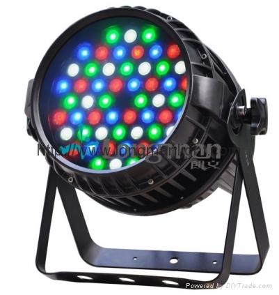 Outdoor IP65 54pcs  RGBW zoom LED par light for stage 1