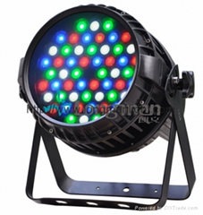 Outdoor IP65 54pcs  RGBW zoom LED par light for stage