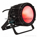 Outdoor IP65 100W FULL RGBW LED flood par light for stage 1