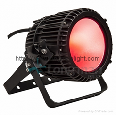 Outdoor IP65 100W FULL RGBW LED flood par light for stage