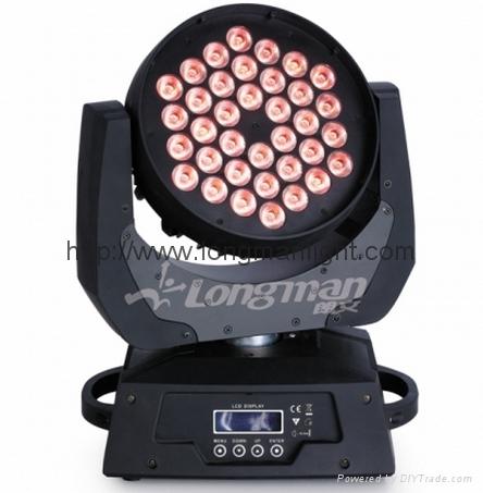 Loby 600 LED Moving Head Lighting 2