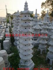 花崗岩石雕石塔