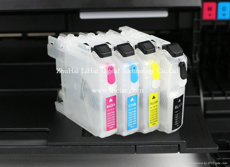 兄弟LC101/LC103/LC105/LC110空填充墨盒 3
