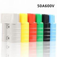 供应安德森插头SG50A600V锂电池充电连接器