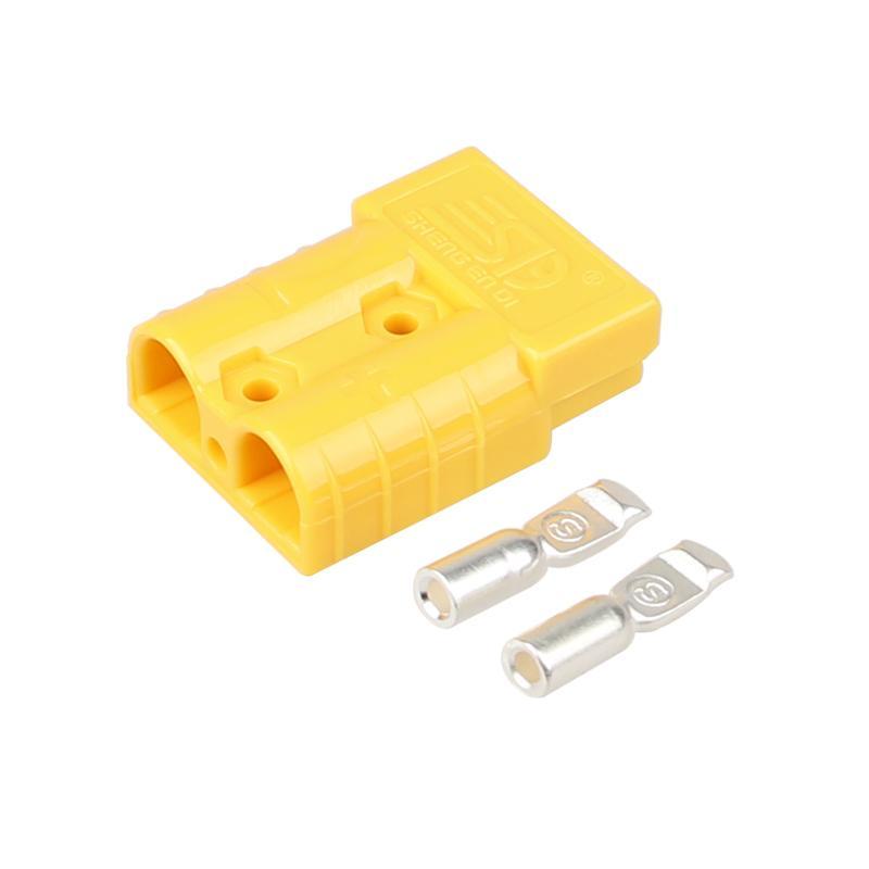 供应安德森插头SG50A600V锂电池充电连接器 2