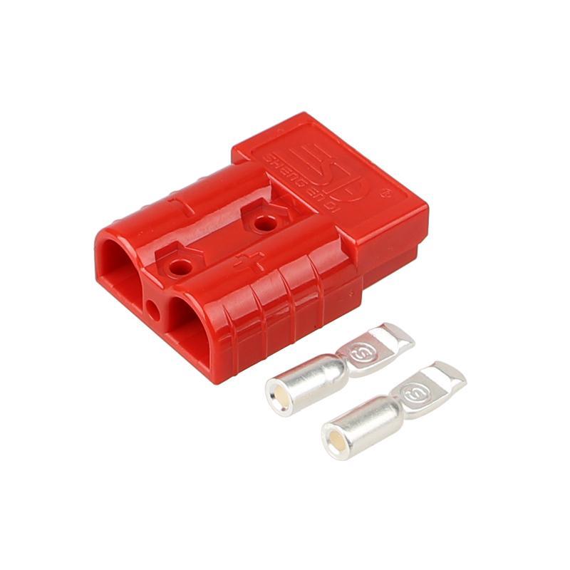 供应安德森插头SG50A600V锂电池充电连接器 4