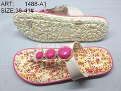 PCU shoes flip flop slipper