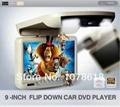 9 inch Dach DVD techo reproductor de dvd