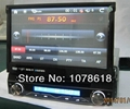 7 inch 1 din dvd GPS player with removable front panel Navigation Units car gps  2