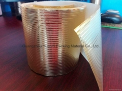 Golden paper for coating on the curtain pole