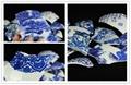 景德鎮仿古青花碎片 陶瓷裝飾馬賽克 3