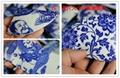 景德鎮仿古青花碎片 陶瓷裝飾馬賽克 4