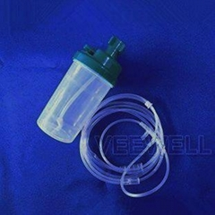 China medical oxygen flow meter humidifier bottles