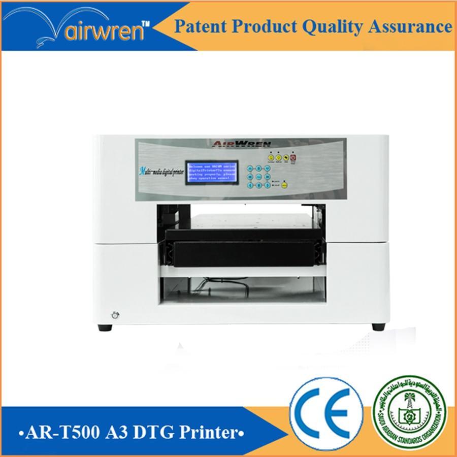 c5d260c8 high quality digital t-shirt garment printer A3 sizes DTG printer Haiwn-T500  1 ...