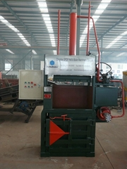 Vertical Paper Baling Ma