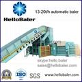 Automatic waste paper baling machine