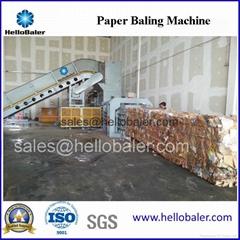 HelloBaler Horizontal  paper baling