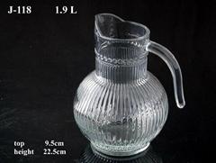 Glassware jug series