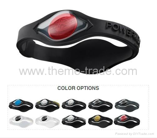 Power Balance New Signature Black Collection Wristbands  1