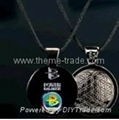 Power Balance Necklace Zinc Alloy