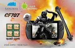New designed hot 7'' RK3188 quad core 2G/16G IPS screen Game console