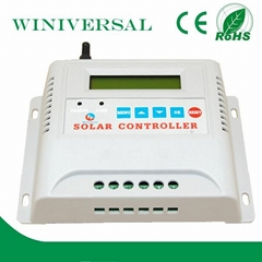 20A pwm solar charge controller remote control lawn mower for sale with CE and R