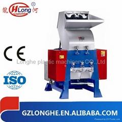 Plastic bottle crusher shredder machine