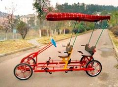 Quality 4 wheels family bike for 4 poeple