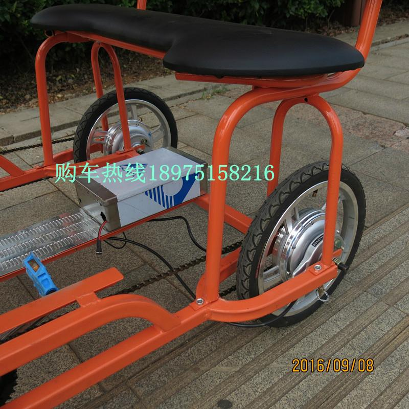 4 person four wheel quadricycle surrey electric sightseeing car 3