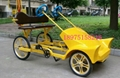 four wheel surrey bike quadricycle