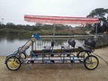 6 Person Pedal Together Quadricycle