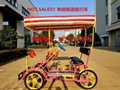 4 Person Surrey Bike 4 Person Electric Bicycle