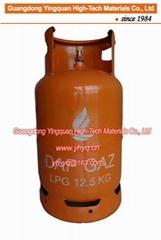 非洲剛果(金)12.5KG液化石油氣鋼瓶