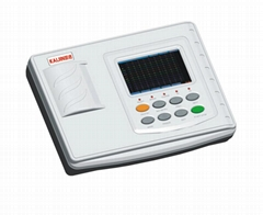 Three Channel ECG machine electrocardiograph