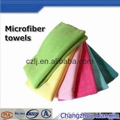 Super Absorbent kitchen clean cloth microfiber towel 30x30cm