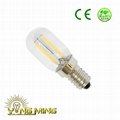 T20 freezer light led filament bulb E14