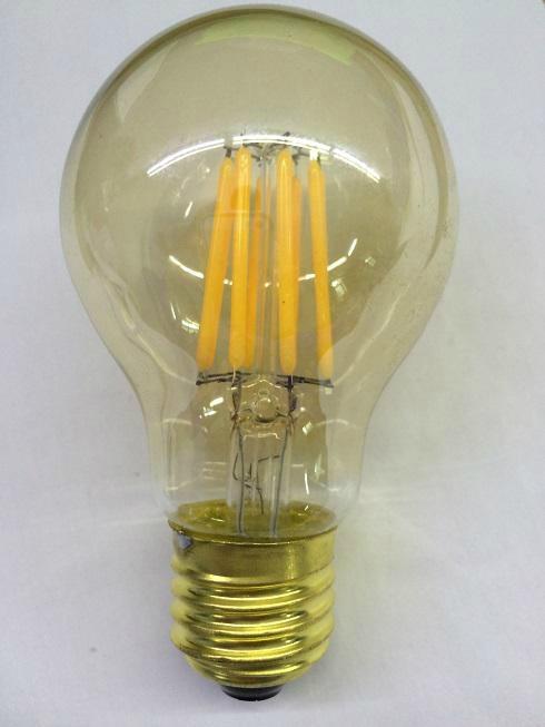 Dimmable General Led Filament  Light E27 Golden glass CE bulb 1