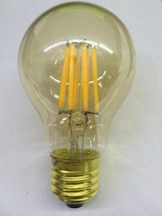 Dimmable General Led Filament  Light E27 Golden glass CE bulb