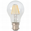 A19 b22 Clear Glass Led Filament Bulb