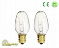 Incandescent C7 desk lamp Candle Christmas bulb 1