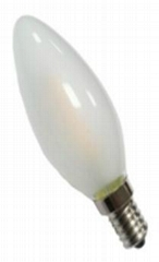 led decorative filament led 3.2w 1.5W  E14 dimmble  candle bulb