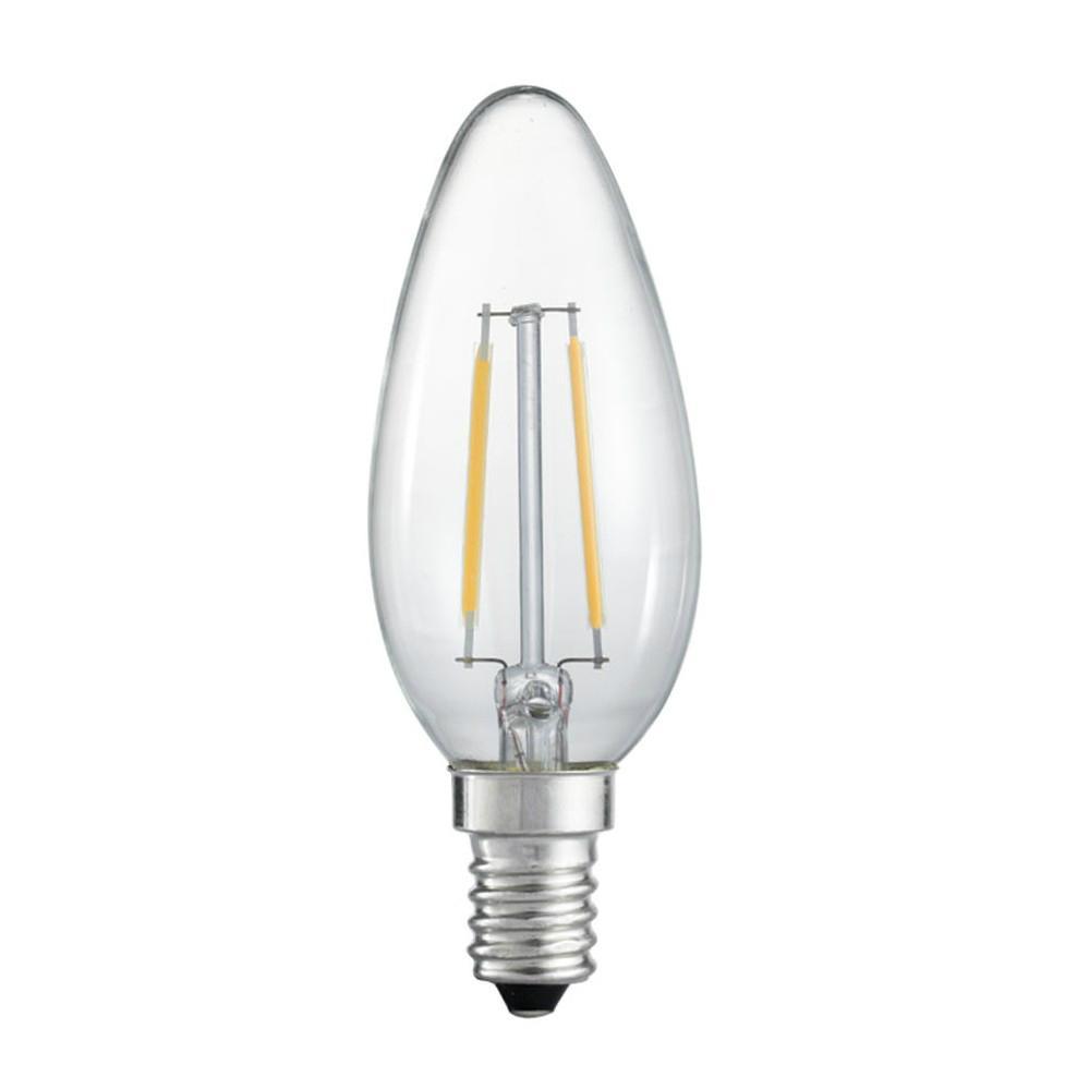led decorative filament led 3.2w 1.5W  E14 dimmble  candle bulb 4