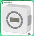 2-outlet weekly digital timer