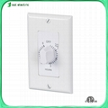 Mechanical countdown in-wall timer