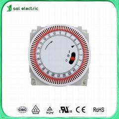 Daily mechanical timer module