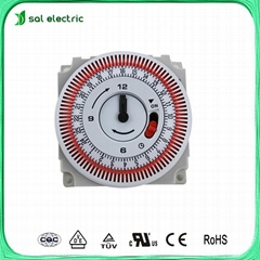 clock indication mechanical timer switch
